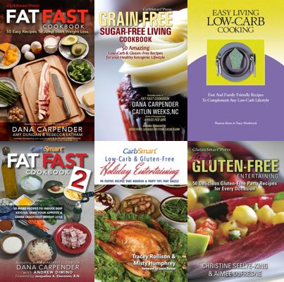 CarbSmart 6 Cookbook Bundle