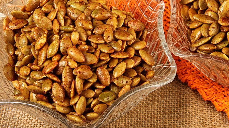 Low-Carb Gluten-Free Chili Lime Pumpkin Seeds Recipe