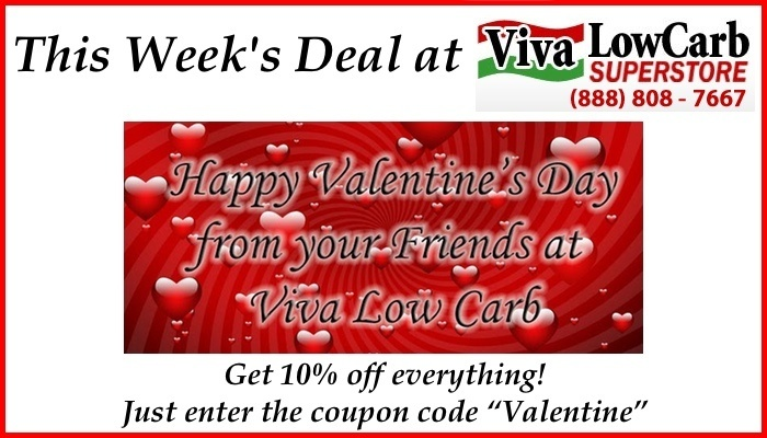 This Week's Sale at Our Trusted Partner Viva Low Carb Superstore