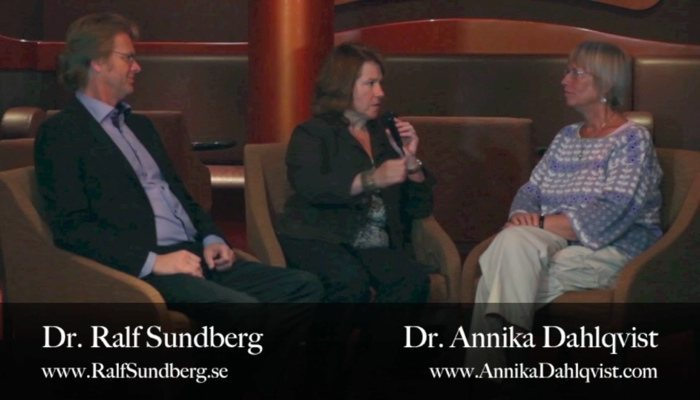 Dana Carpender Video Interview with Dr. Annika Dahlqvist and Dr. Ralf Sundberg
