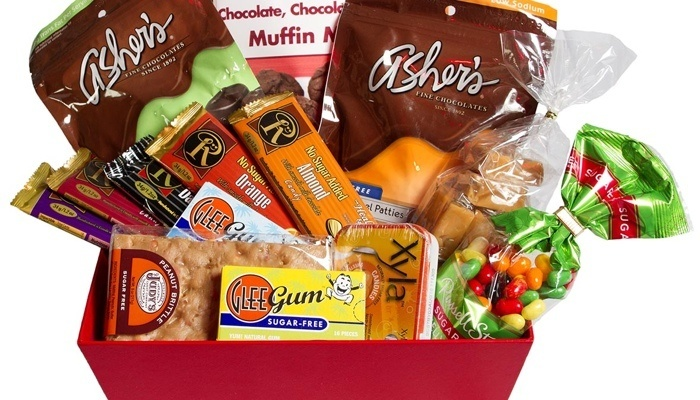 Gift baskets articles carbsmart carbsmart sugar free low carb easter basket negle Choice Image