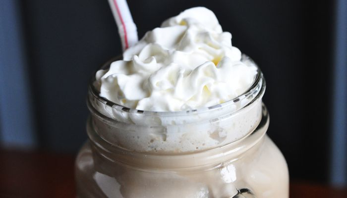 """Better Than Coffee Shop"" Mocha Recipe by Dana Carpender from CarbSmart Grain-Free, Sugar-Free Living Cookbook"