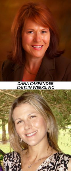 Dana Carpender & Caitlin Weeks