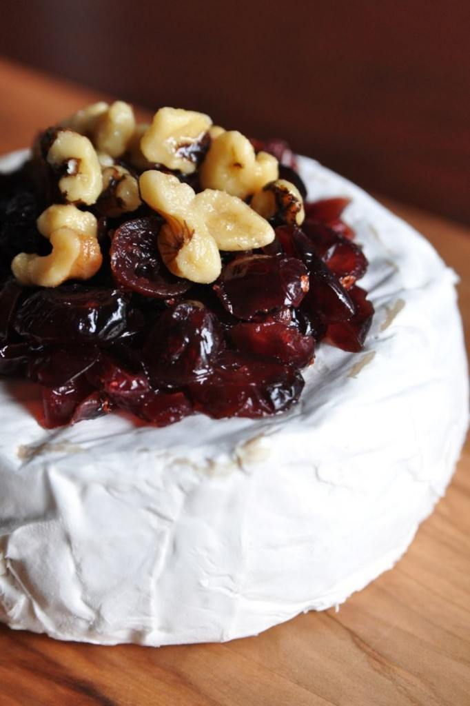 Cranberry Almond Brie Recipe From CarbSmart Low-Carb & Gluten-Free Fall and Winter Entertaining