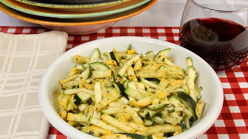 Italian-Style Sautéed Summer Squash Recipe