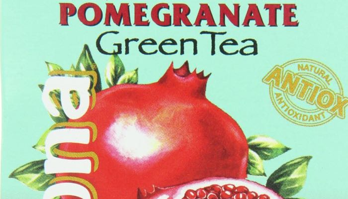 AriZona Sugar Free Pomegranate Green Iced Tea Box of 10 Stix