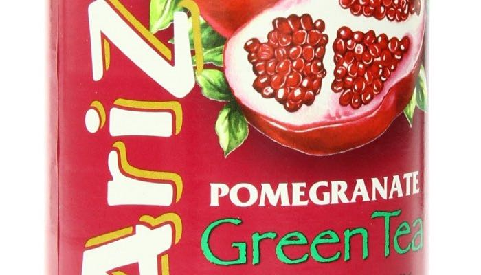 AriZona Sugar Free Pomegranate Green Iced Tea Tubs