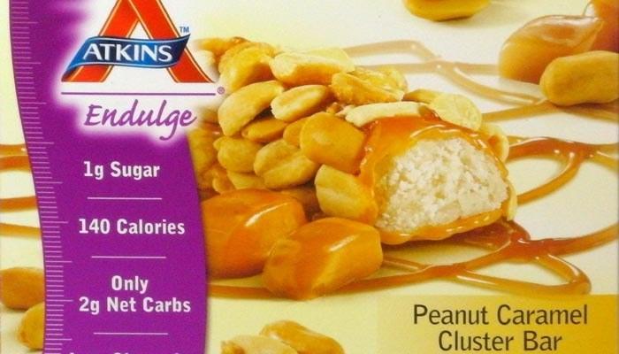 Peanut Caramel Cluster Atkins Endulge Bars – Box of 5 bars