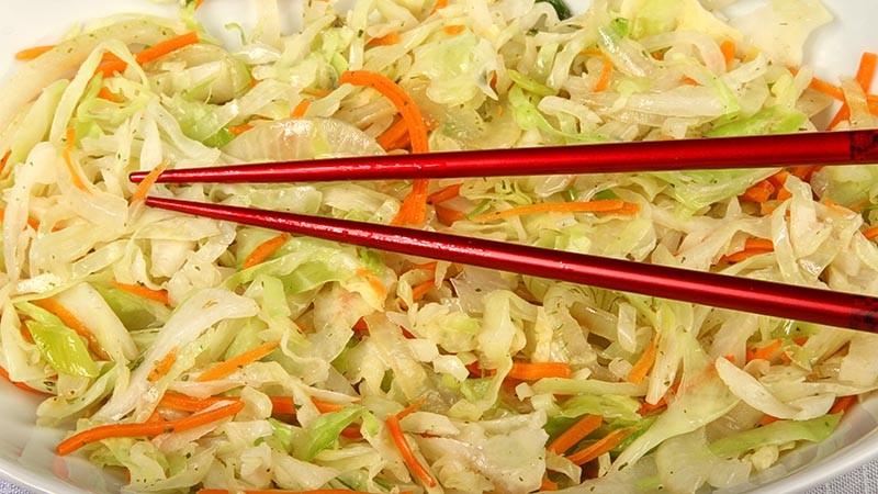 Low-Carb Stir Fried Cabbage Recipe