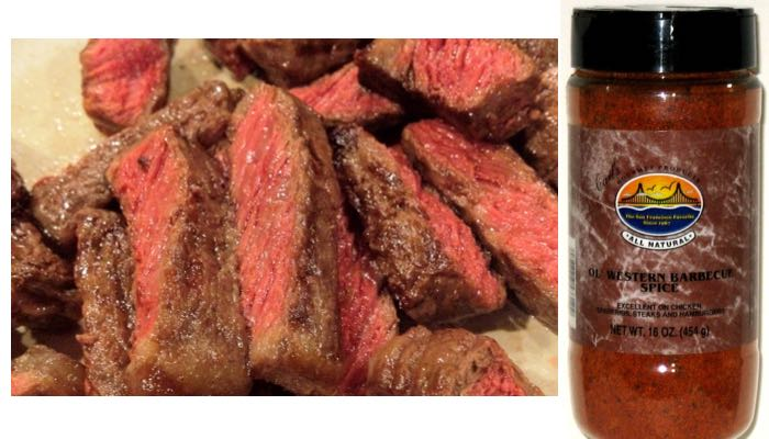 16 oz. Carl's Gourmet All Natural Old Western Barbecue Spice and Meat Rub