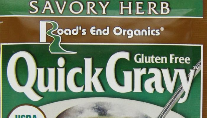 Savory Herb Road's End Organics Low Carb & Gluten Free Gravy Mix
