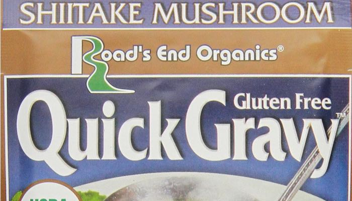 Road's End Organics Gluten Free Shiitake Mushroom Quick Gravy