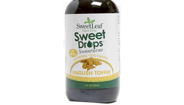 SweetLeaf Sweet Drops English Toffee Liquid Stevia Sweetener 2 oz.