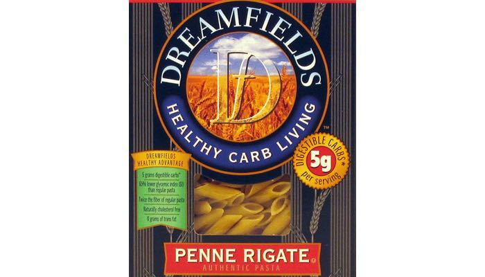 Dreamfields Penne Low Carb Pasta