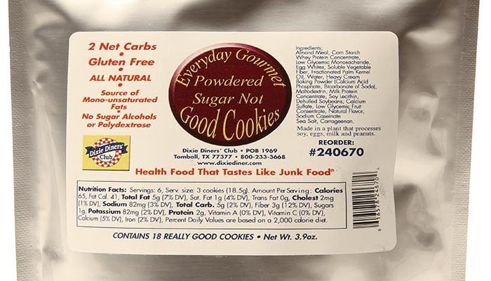 Dixie Carb Counters Powdered Sugar Not Cookies