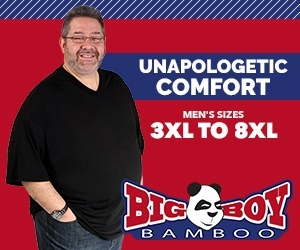 Big Boy Bamboo Unapologetic Comfort