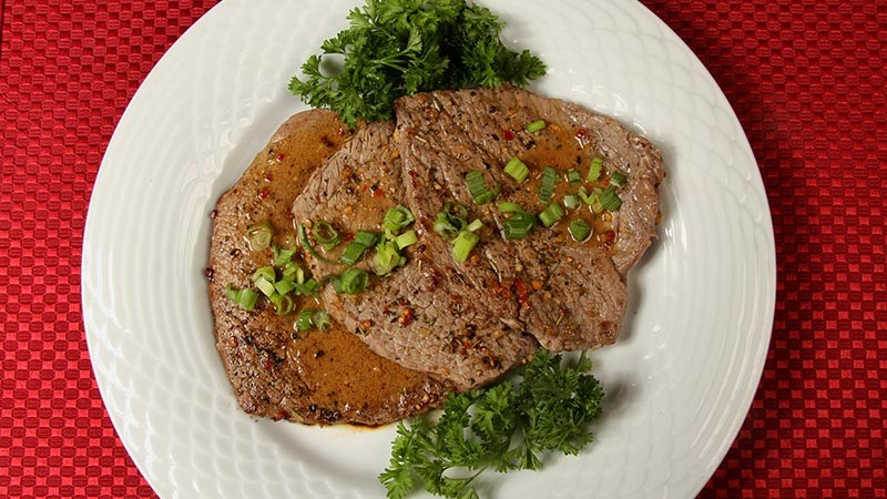 Low-Carb Gluten-Free Steak Diane Recipe