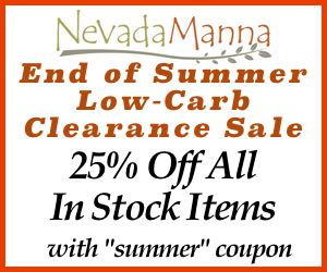Nevada Manna End of Summer Clearance Sale
