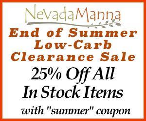Nevada Manna End of Summer Clearance Sale