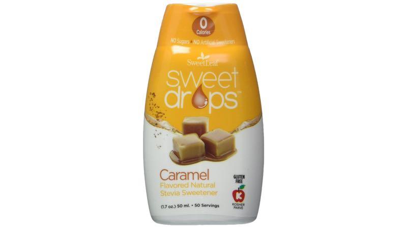 SweetLeaf Sweet Drops Liquid Stevia Caramel Sweetener