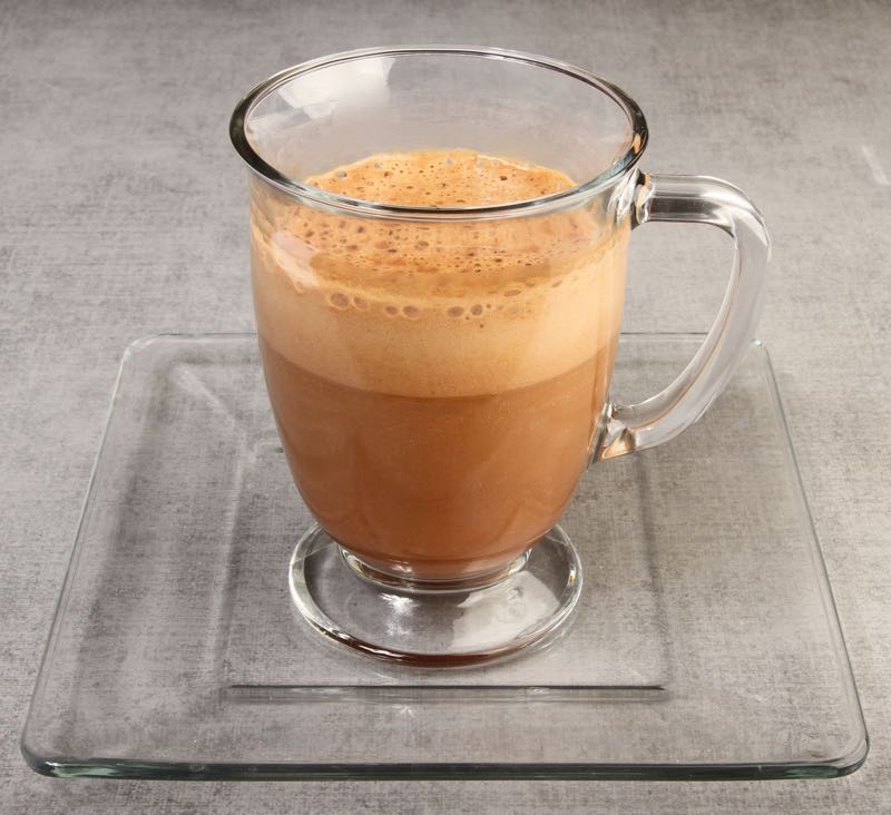 Salted Caramel Mocha Keto Coffee from Fat Fast Cookbook 2