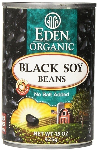 Eden Black Soybeans