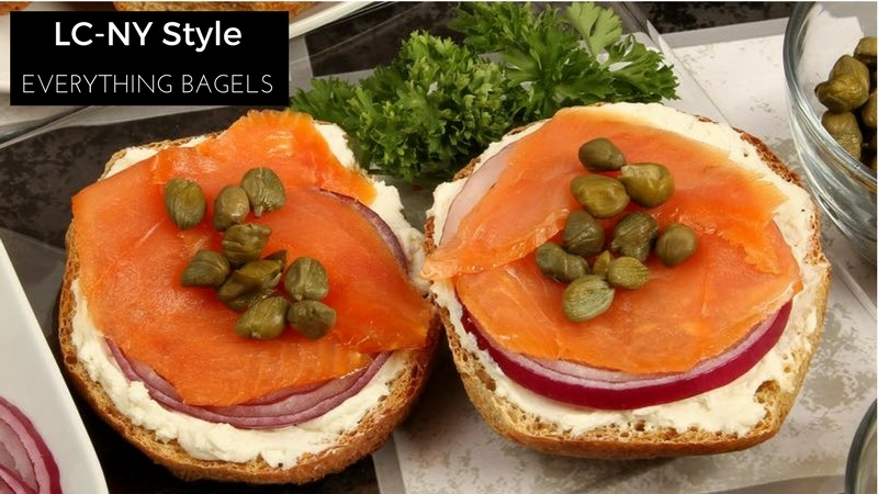 Low-Carb LC-NY Style Everything Bagels by LC Foods