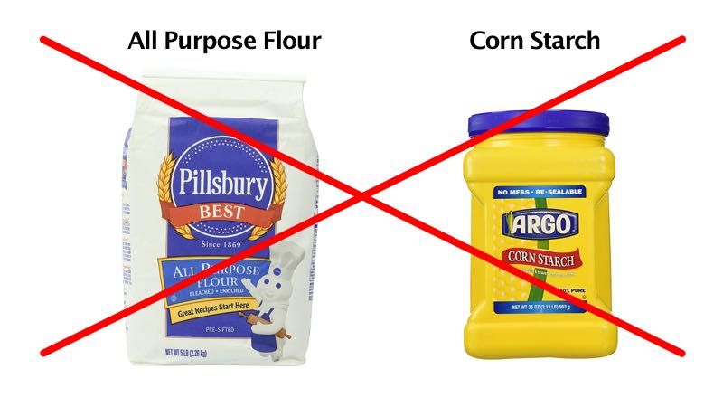 No More Flour & Corn Starch for Low-Carb Cooking