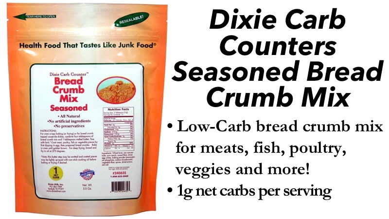 Dixie Carb Counters Seasoned Bread Crumb Mix