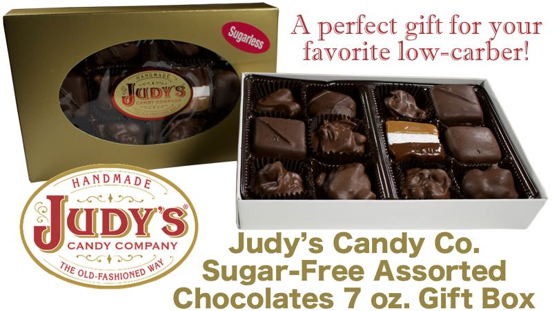 Judys candy co sugar free assorted chocolates 7 oz gift box a sugar free assorted gift box for your favorite sweetheart negle Gallery