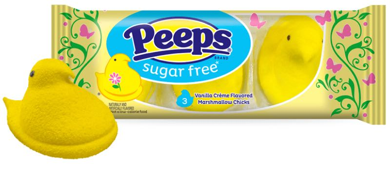 Peeps Sugar-Free Marshmallow Chicks
