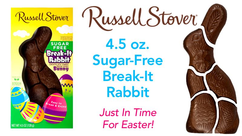 Russell Stover Sugar-Free Break It Rabbit