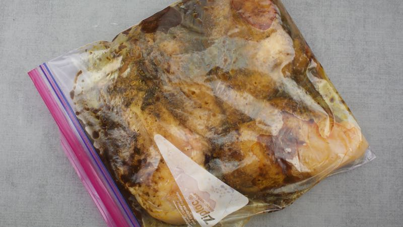Low-Carb, Gluten-Free Southwest Marinade Recipe - coat chicken breast sit for 2 hours