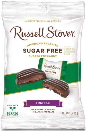 Russell Stover Sugar Free Dark Chocolate Truffles