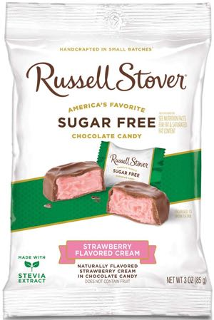 Russell Stover Sugar Free Strawberry Flavored Cream Candies