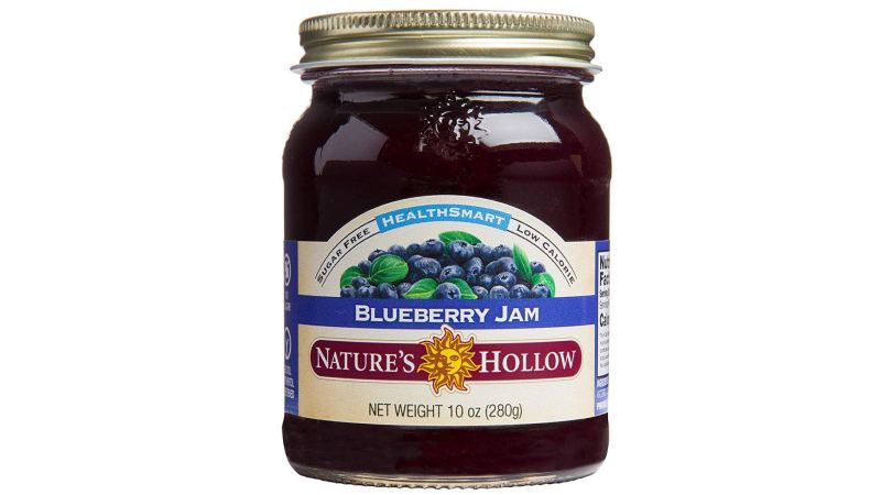 Nature's Hollow Sugar-Free Blueberry Jam