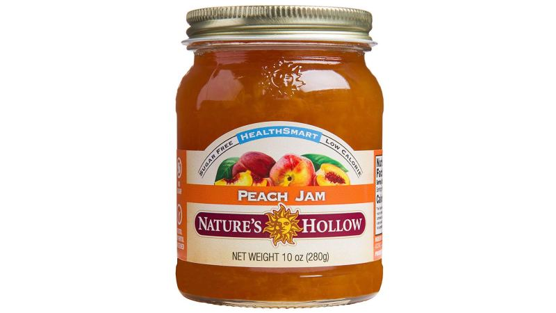 Nature's Hollow Sugar-Free Peach Jam