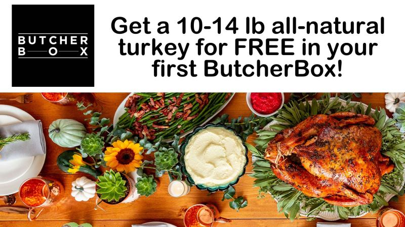 Butcher Box Free Turkey 2019