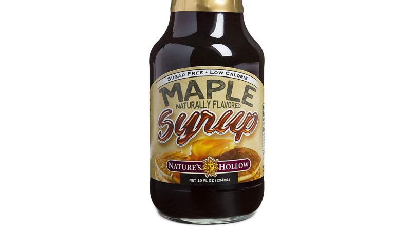 Nature's Hollow Sugar-Free Maple Syrup