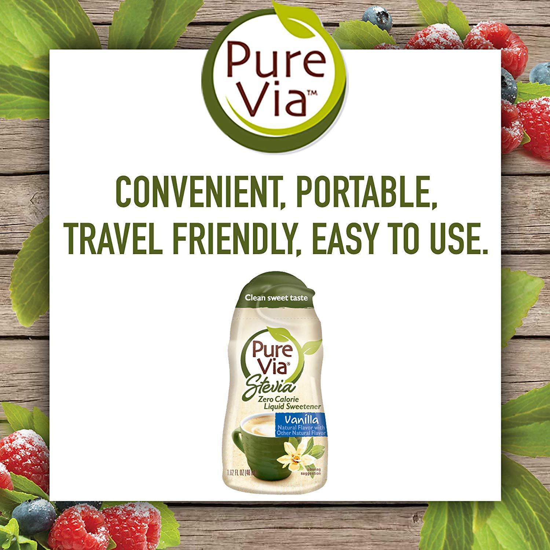 Pure Via Vanilla Liquid Stevia Drops