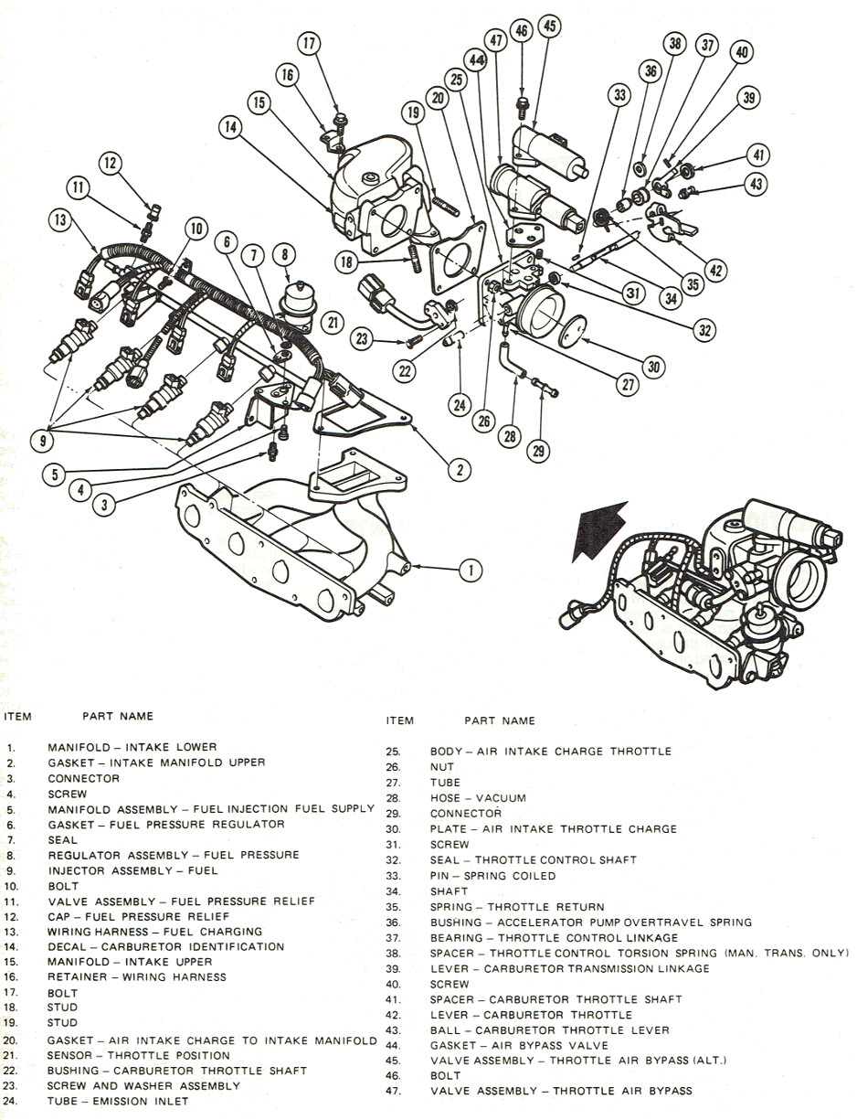 Ford 976 Fuel Injector Mikes Carburetor Parts Pressure Diagram Injection