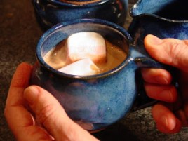 A GOOD DAY FOR A CUP OF HOT COCOA?