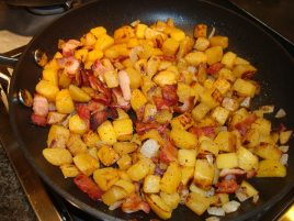 HOME FRIES AND FAUX POTATOES