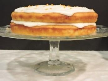Kumquat Cake On Stand
