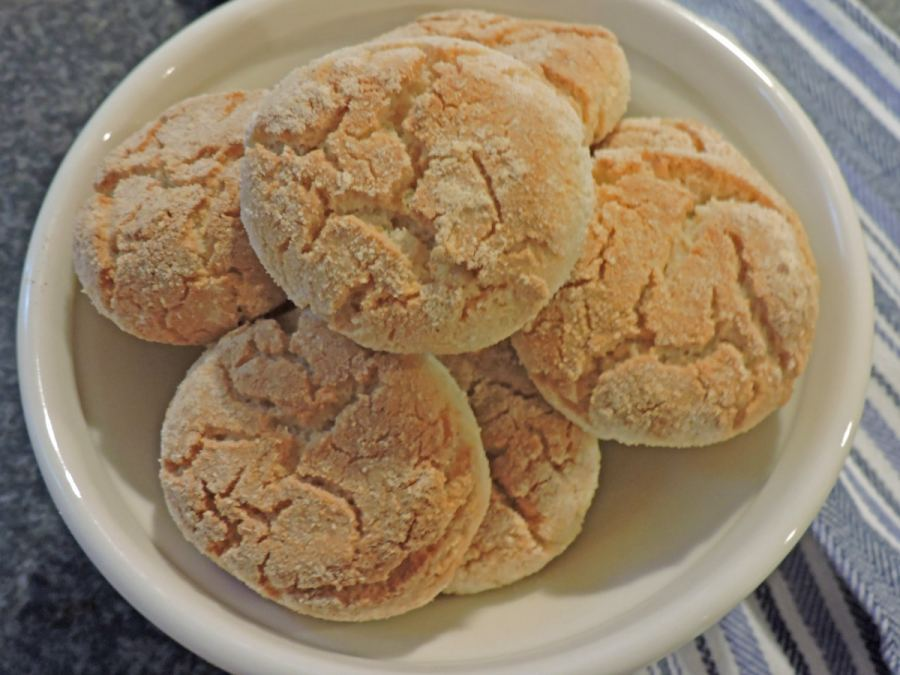 Gluten-free, low-carb, new yogurt biscuits, (c) 2021, Judy Barnes Baker
