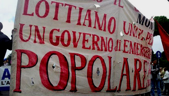 La situazione è rivoluzionaria, fare dell'Italia un nuovo paese socialista è possibile