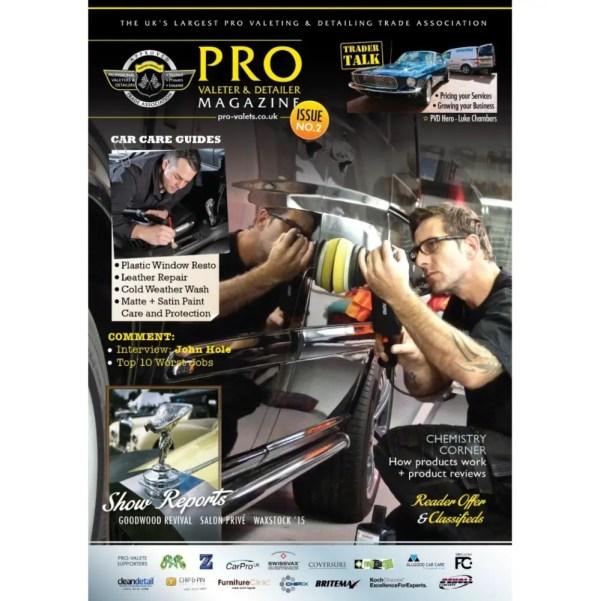 PRO Detailer Magazine - Nr. 2-2016 - Front Cover