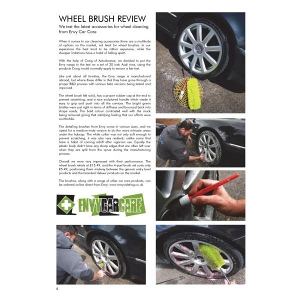 PRO Detailer Magazine - Nr. 1-2015 - Wheel Brush Review