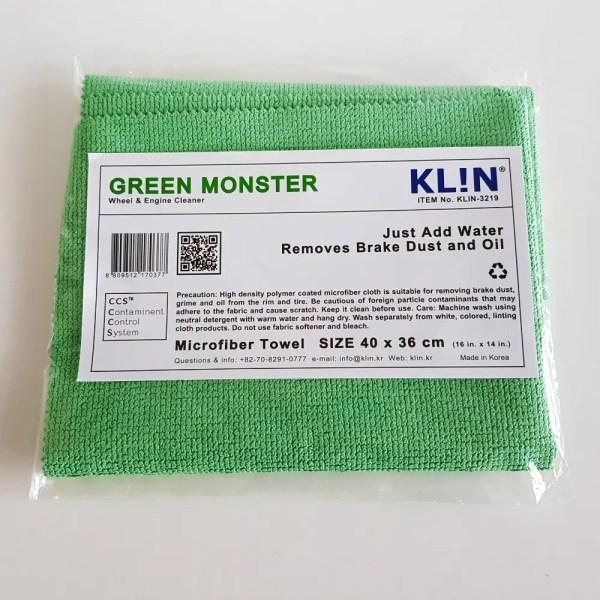 Klin Korea - Green Monster - 40 x 36 cm - Wheel & Engine Cleaner
