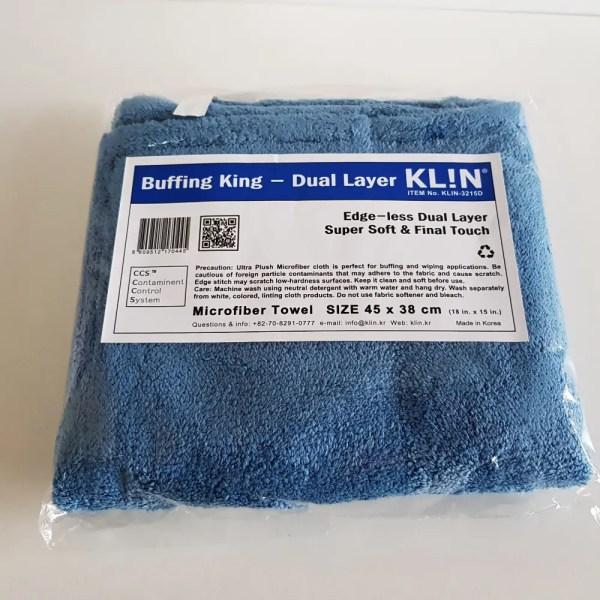 Klin Korea - Buffing King - 45 x 38 cm - Dual Layer Super Soft